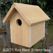 OHOP assembled birdhouse from The Birdhouse Depot.