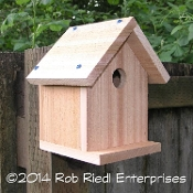 MASHEL birdhouse kit from The Birdhouse Depot.