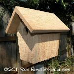 WIND birdhouse kit from The Birdhouse Depot.