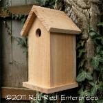TANWAY birdhouse kit from The Birdhouse Depot.