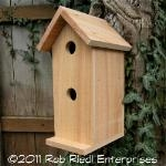 KLICKITAT birdhouse kit from The Birdhouse Depot.