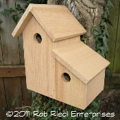 BOULDER birdhouse kit from The Birdhouse Depot.